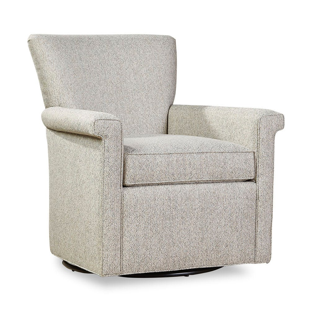 Smithe Signature Living Room Swivel Chair 7769 56 Walter E Smithe Furniture Design