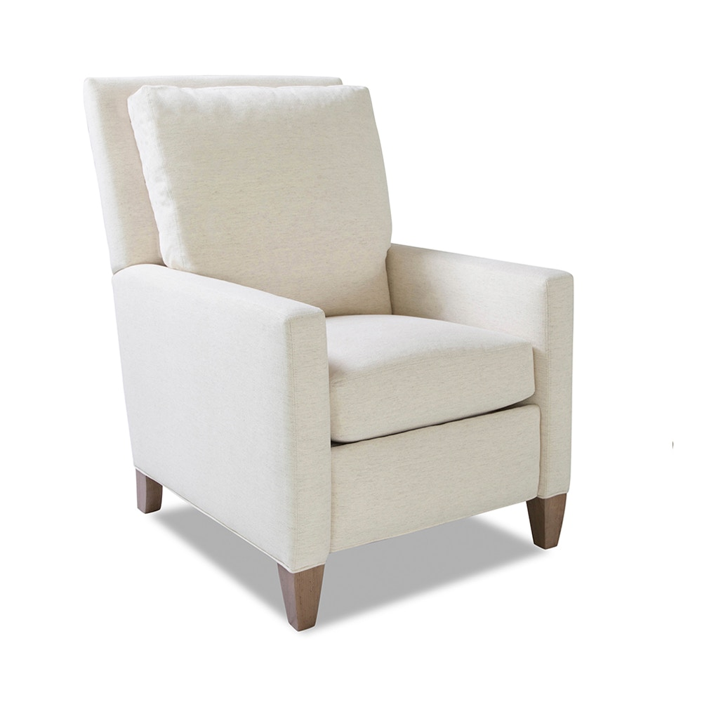 Smithe Signature Living Room Push Back Recliner 8107 RC Walter E. Smithe Furniture + Design
