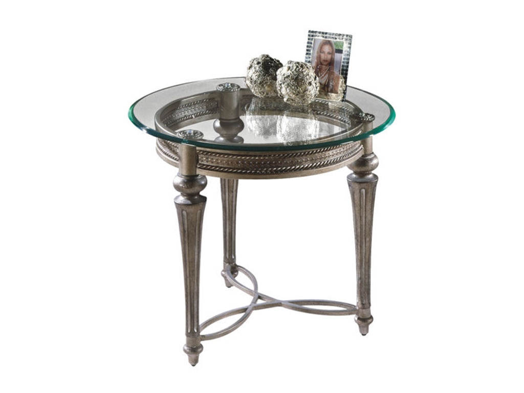 Magnussen Home Living Room Round End Table 37504 Indian River Furniture Rockledge And