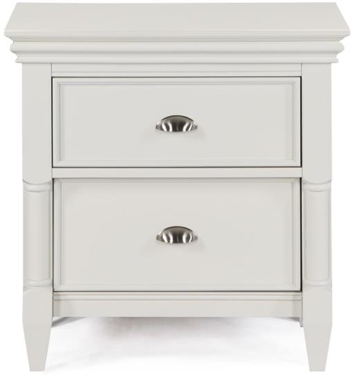Magnussen Home Bedroom Drawer Nightstand No Touch Lighting