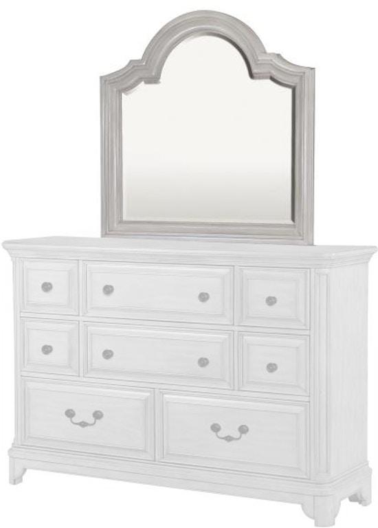 Magnussen home bedroom landscape mirror b3341 40 design for Design source furniture az