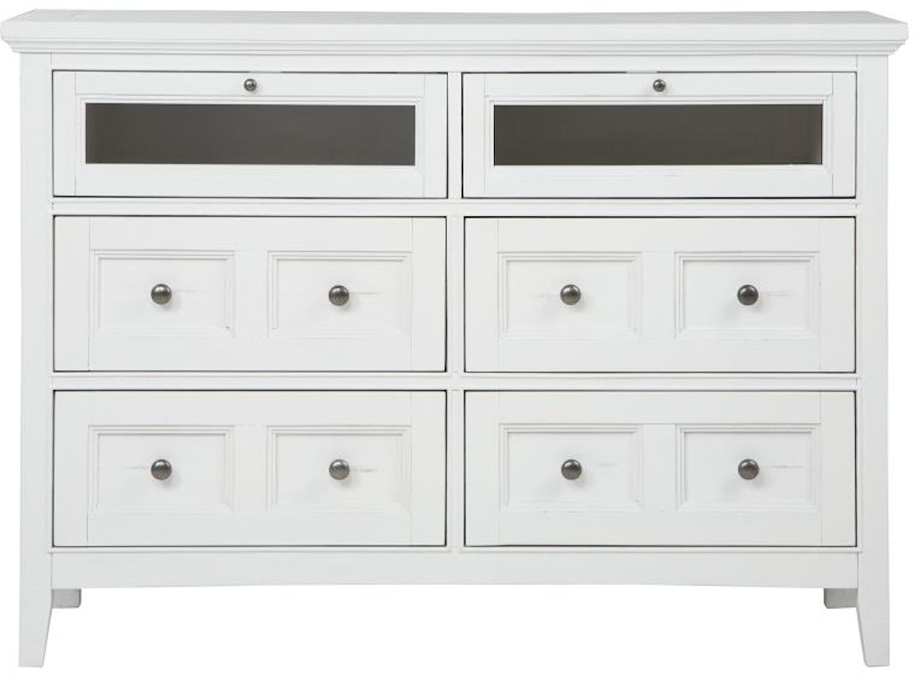 Magnussen Home Bedroom Media Chest B4400 36 Designer
