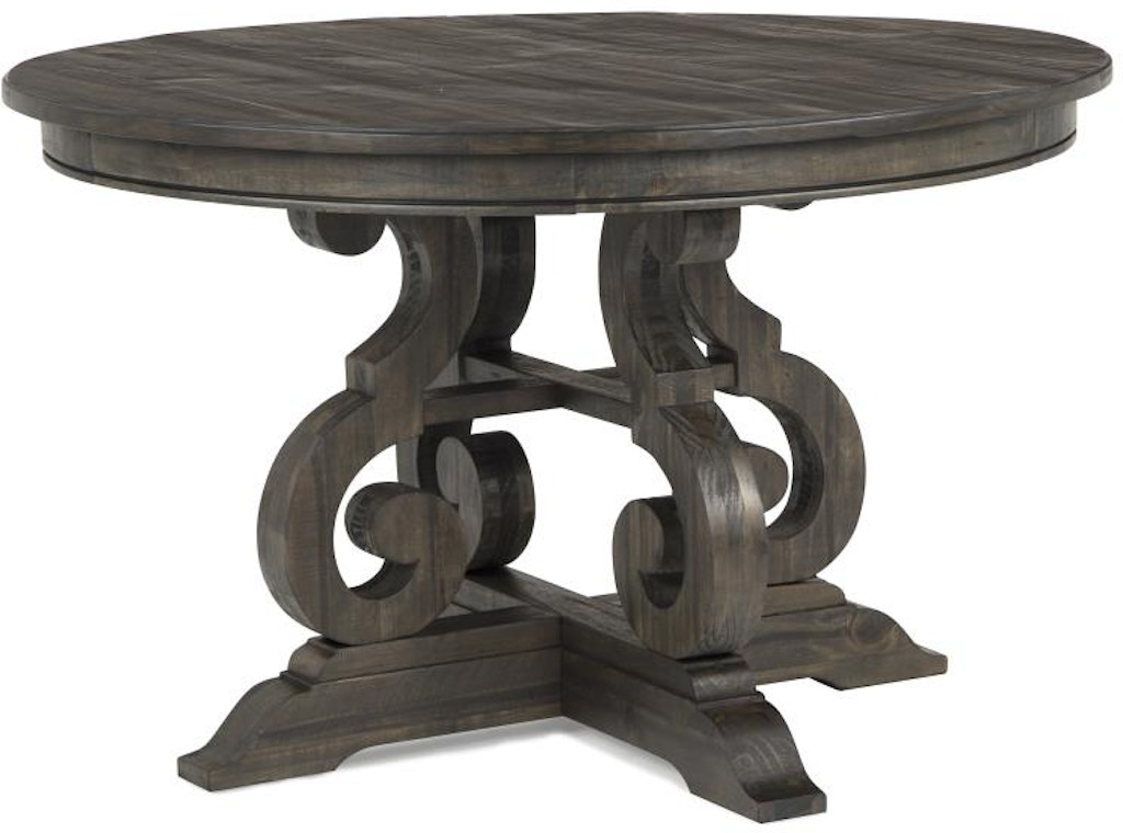 Magnussen Home 48 Round Dining Table D2491 22 In Elyria Olmsted Kaplan S Furniture Store