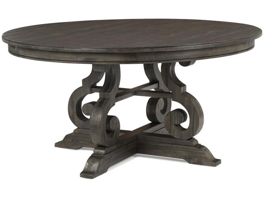 Wood 60 Round Dining Table Base Kd Mgnd249123b
