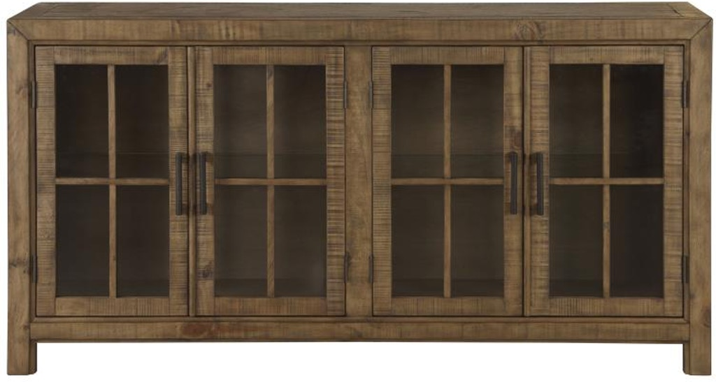 Dining Room Buffet Curio Cabinet D4209