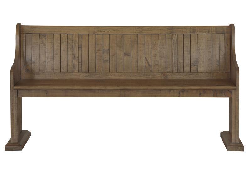Magnussen Home Wood Bench D4209 79