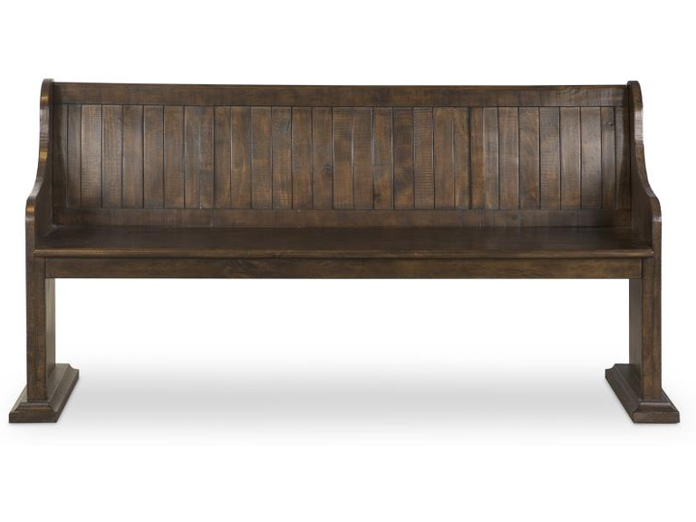 Magnussen Home Dining Room Bench With Back D4210 79 Upper Room