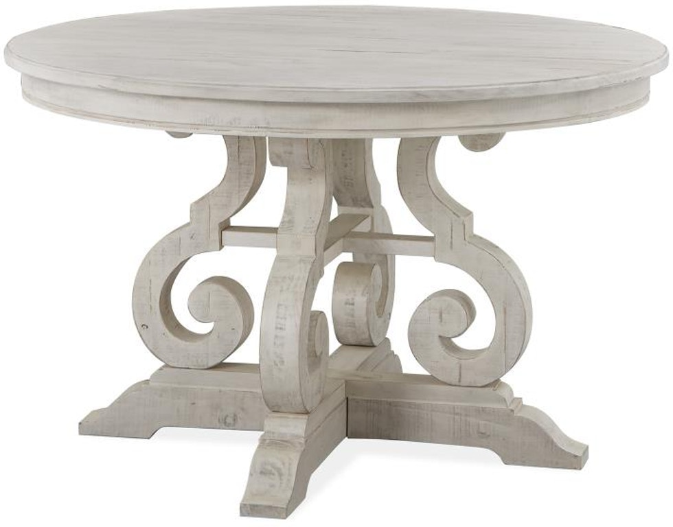 Magnussen Home Dining Room 48 Round Dining Table D4436 22 Carol House Furniture Maryland