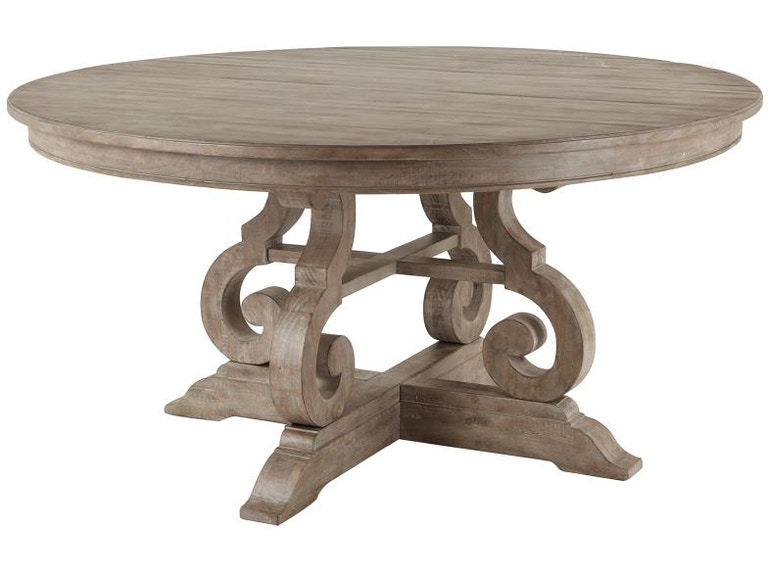 Magnussen Home Dining Room Wood 60 Round Table Base Kd Mgnd464623b Walter E Smithe Furniture Design