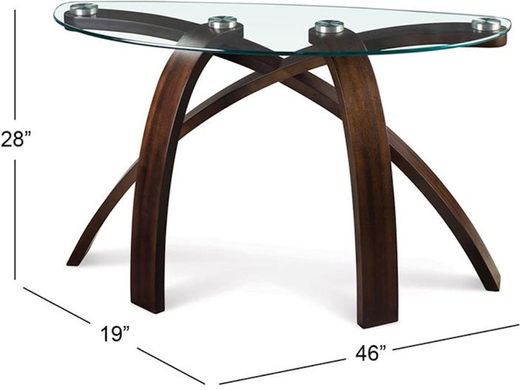 Phenomenal Magnussen Home Living Room Wood Sofa Table Base Kd Skaff Ibusinesslaw Wood Chair Design Ideas Ibusinesslaworg
