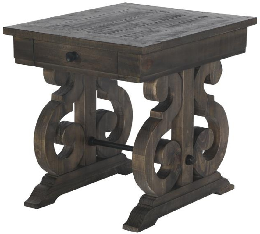 Magnussen Home Living Room Rectangular End Table T2491-03