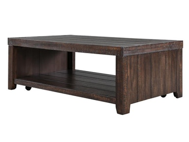 Magnussen Home Rectangular Cocktail Table (With Casters) T2528-43