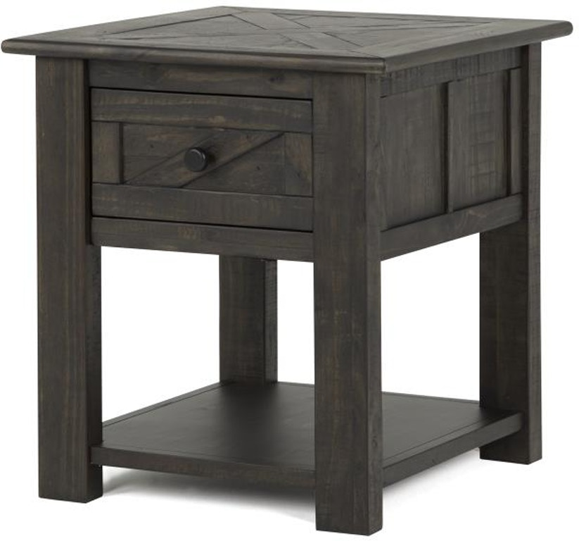 Magnussen Home Living Room Rectangular End Table T3778-03