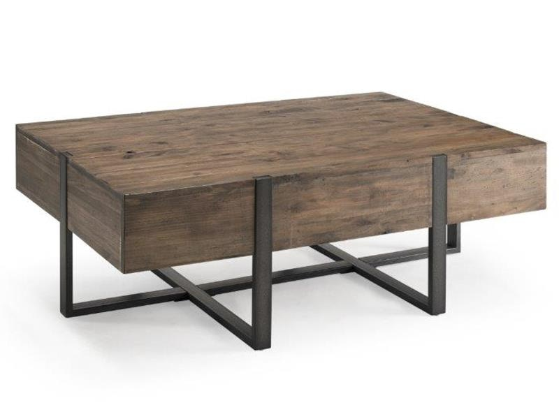 - Magnussen Home Living Room Rectangular Cocktail Table 201228649
