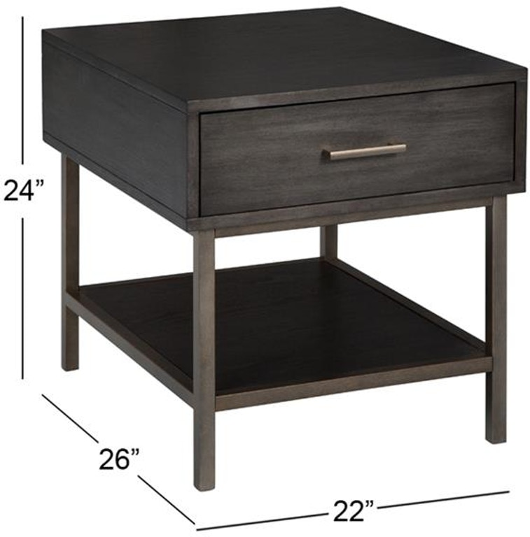 Lift Top Coffee Table Ottawa: Magnussen Home Living Room Rectangular End Table T4574-03