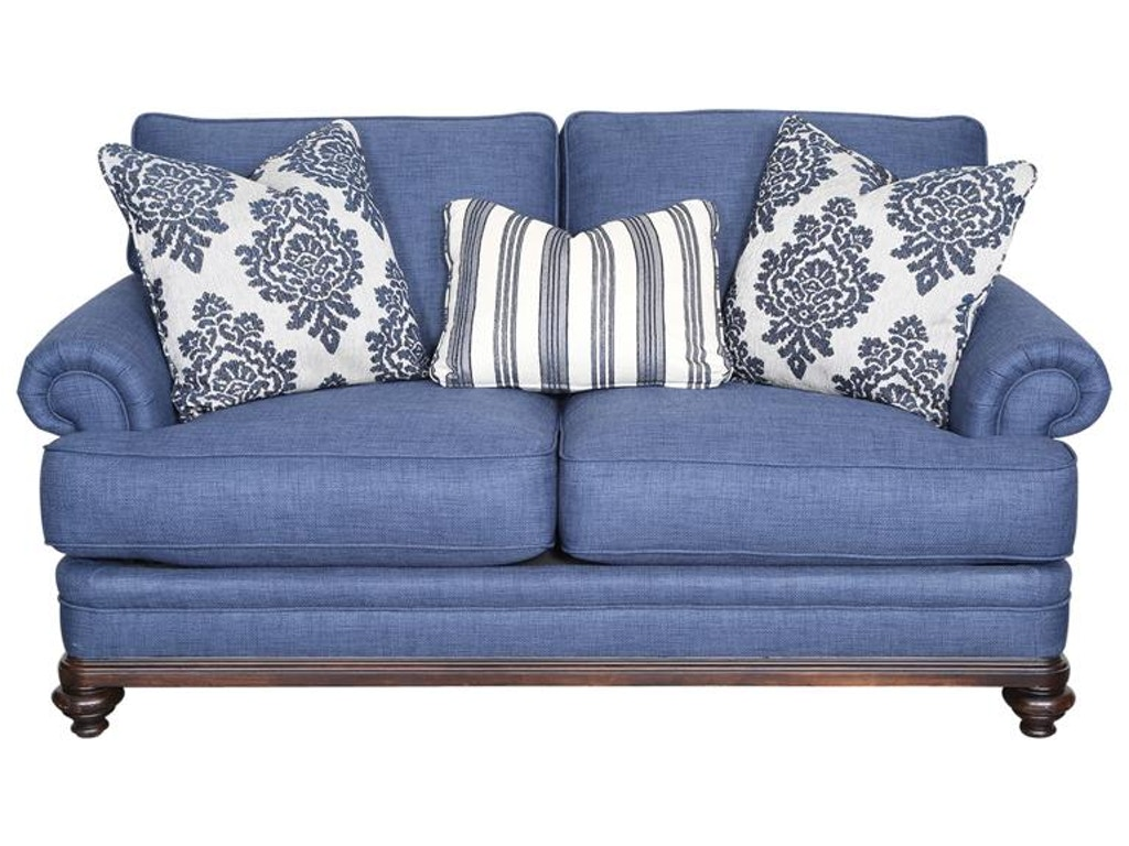 Magnussen Home Living Room Loveseat U2541 30 Howell Furniture Beaumont And Nederland Tx And