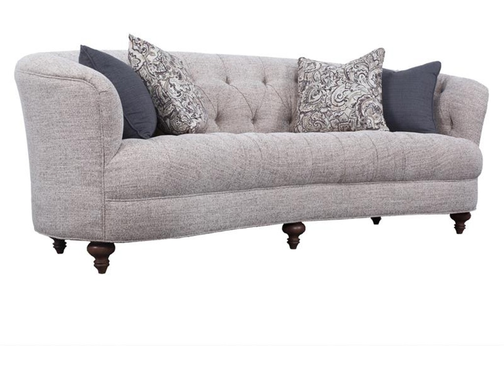 Magnussen Home Living Room Pewter Sofa U2627 20 075 Howell Furniture Beaumont And Nederland