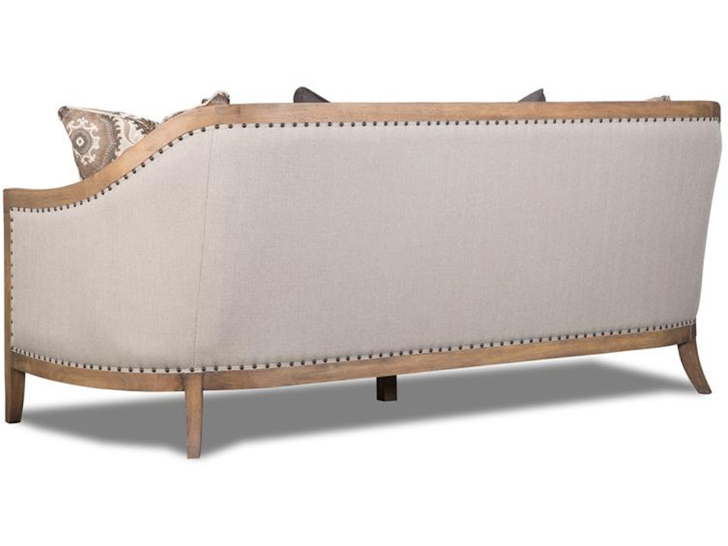 Magnussen Home Living Room Taupe Sofa U3431 20 072 Howell Furniture Beaumont And Nederland
