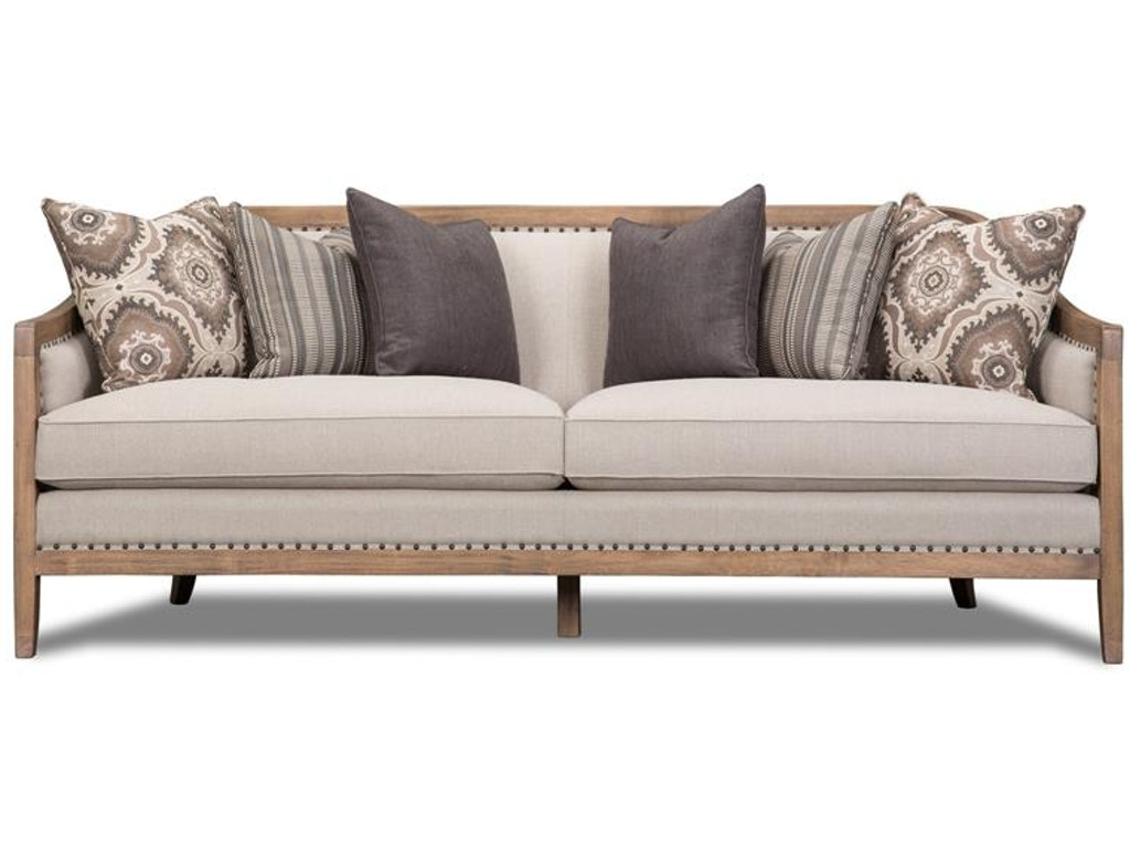 Tremendous Magnussen Home Living Room Taupe Sofa U3431 20 072 Inzonedesignstudio Interior Chair Design Inzonedesignstudiocom