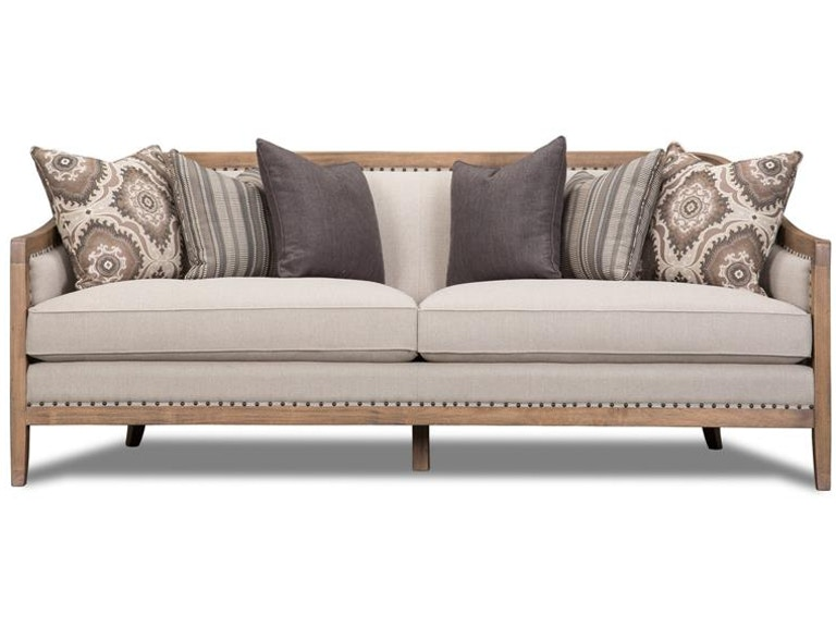 fabulous taupe living room furniture | Magnussen Home Living Room Taupe Sofa U3431-20-072 ...