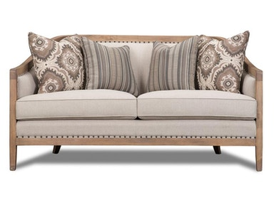 Magnussen Home Taupe Settee U3431-80-072