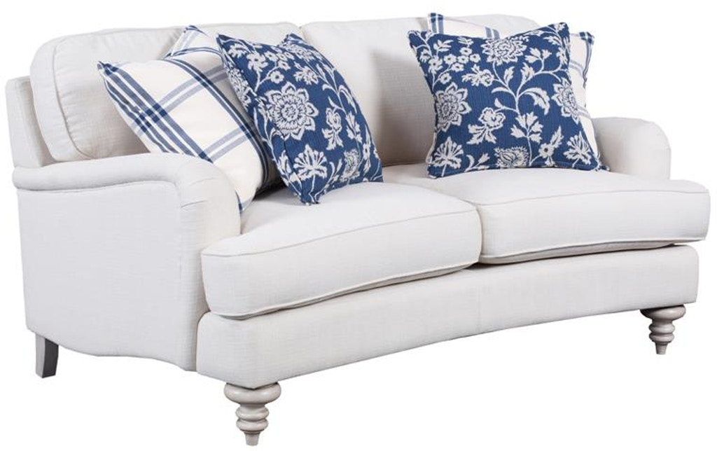 ivory order sofa leather and loveseat iv set eagle modern furniture american faux products