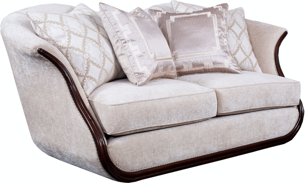 benchmark home ks ivory in loveseat by magnolia mhome freqetklbxcl manhattan products