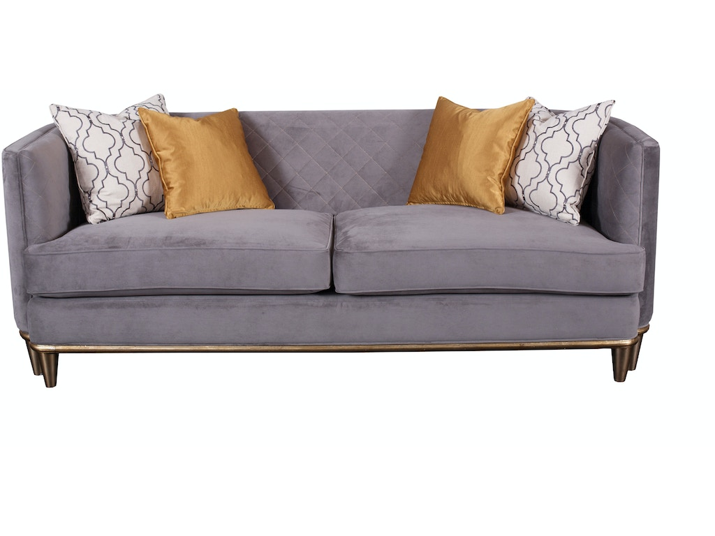 Magnussen Home Living Room Grey Sofa U3750 20 076 Howell Furniture Beaumont And Nederland