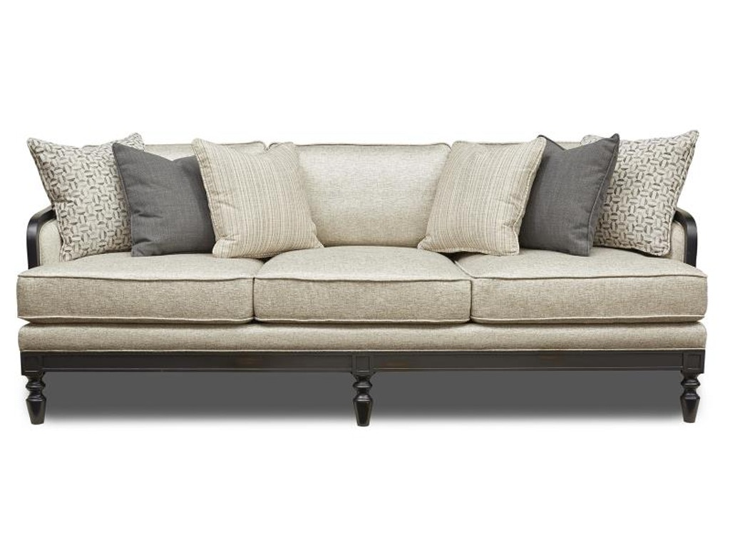 Magnussen Home Living Room Ivory Sofa U4235 20 091 Howell Furniture Beaumont And Nederland
