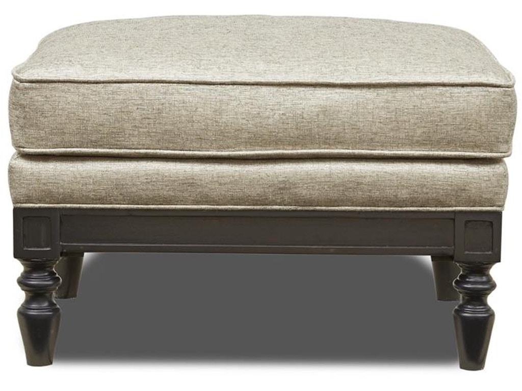 Magnussen Home Living Room Ivory Ottoman U4235 63 091 Howell Furniture Beaumont And