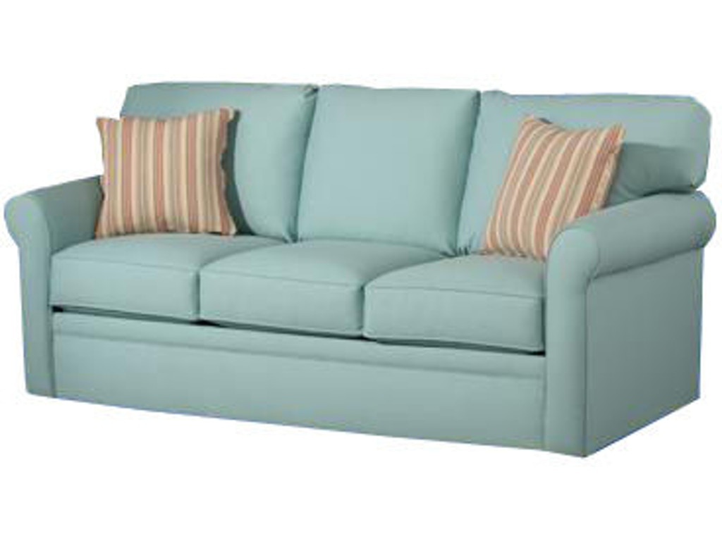 Overnight Sofa Living Room Queen Sleeper 4850 Seaside Furniture Toms River Brick And