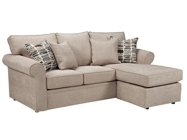 Overnight Sofa Queen Sleeper/Chaise 5690