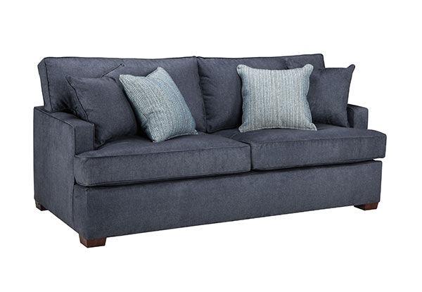 overnight sofa living room queen sleeper 7350 seaside furniture rh seasidefurniture com Best Sleeper Sofa Queen Sleeper Sofa