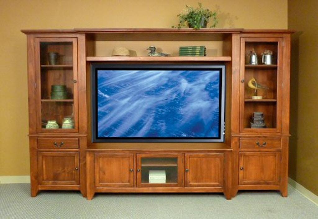 southern craftsmen 39 s guild home entertainment nantucket 60 39 39 flat screen tv center nantucket 60. Black Bedroom Furniture Sets. Home Design Ideas