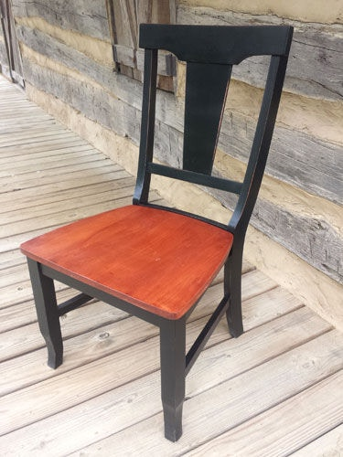 Southern Craftsmenu0027s Guild Fiddle Back Chair 6110