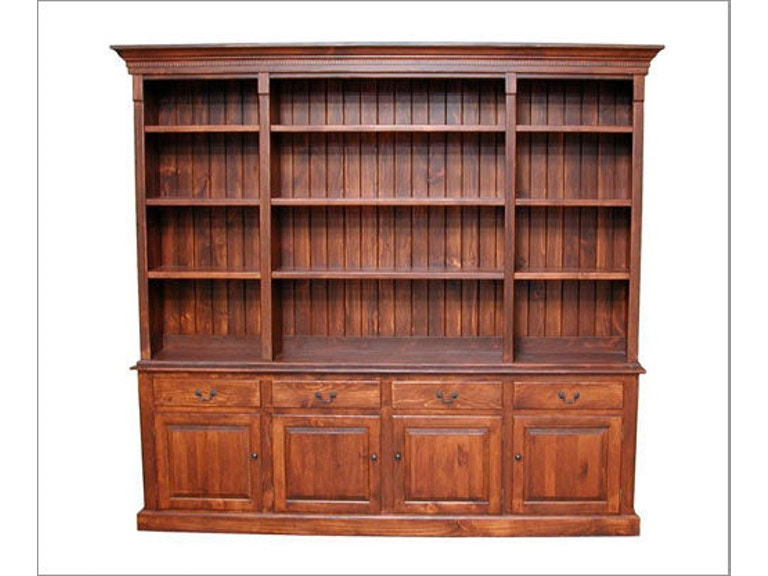 Southern Craftsmens Guild Dining Room English Open Hutch