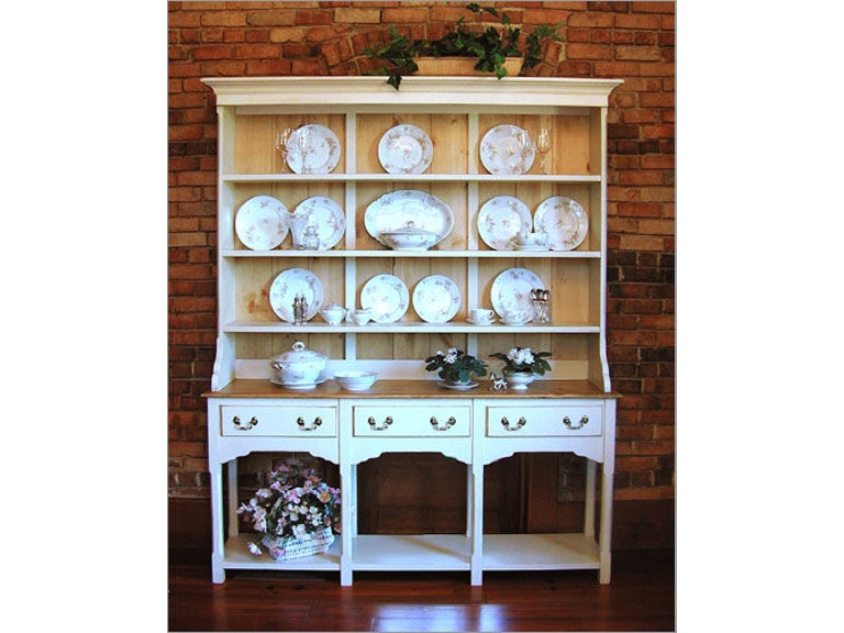Southern Craftsmens Guild Dining Room Dover Open Hutch Base 3760B At Staianos Furniture
