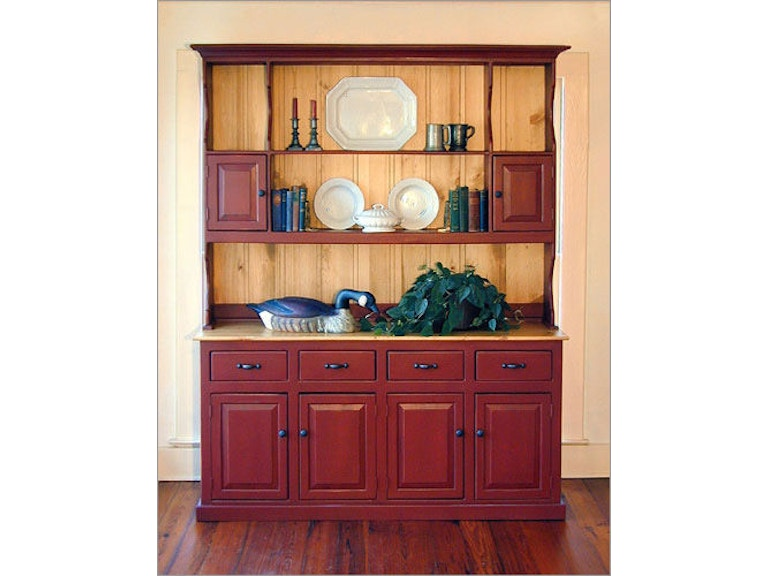 Southern Craftsmens Guild Dining Room Carolina Colonial Hutch 3702 At Eller And Owens Furniture