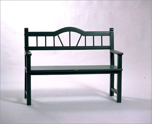 Southern Craftsmenu0027s Guild Garden Bench 3506