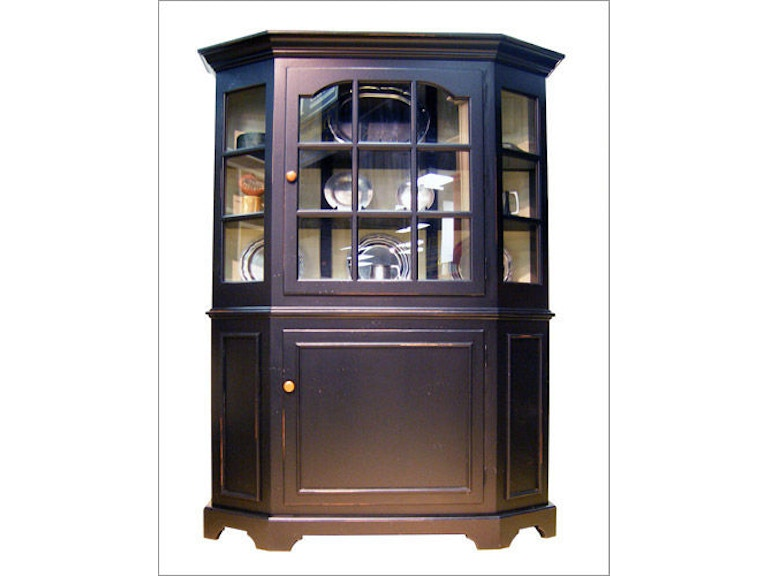 Southern Craftsmens Guild Dining Room St Simons Glass Hutch 3750