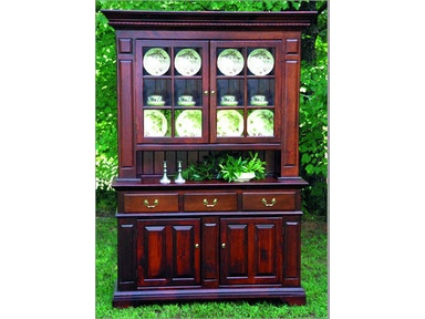 Southern Craftsmens Guild Dining Room Carolina Colonial Hutch 3702