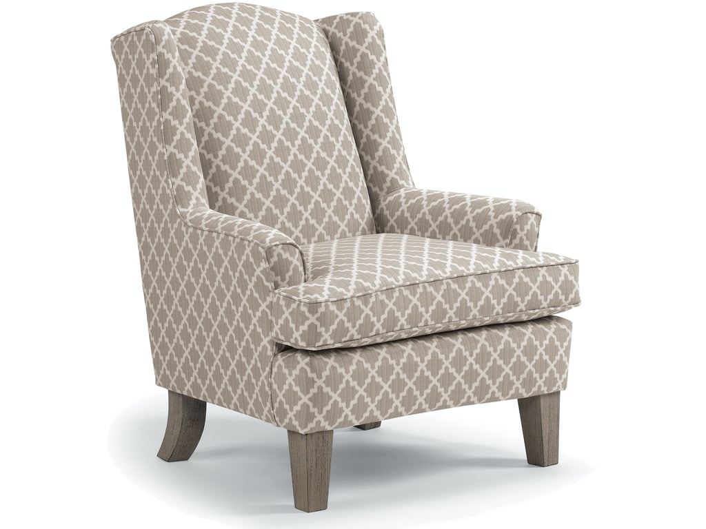 Best home furnishings living room stationary chair 0170 for Furniture kingdom
