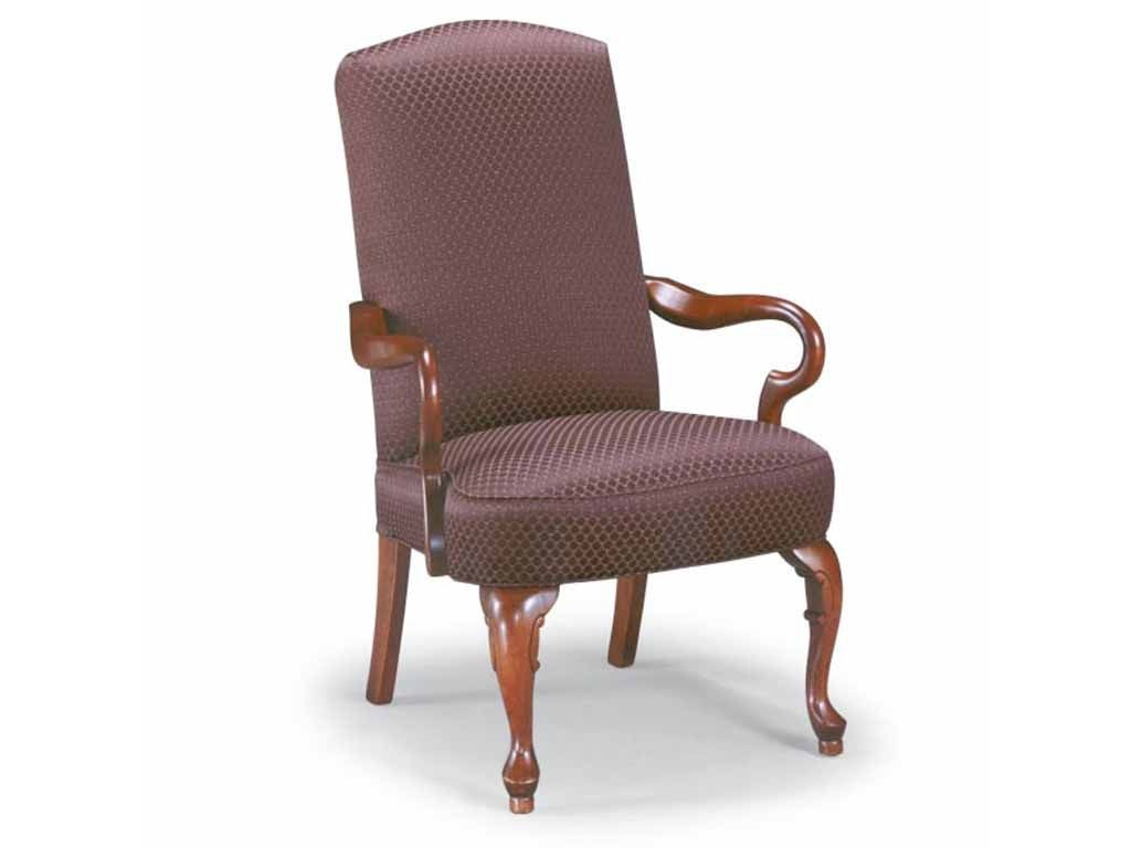 Best home furnishings living room gooseneck accent chair for Best home furnishings