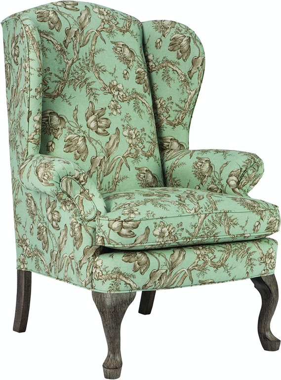Living Room Queen Anne Wing Chair