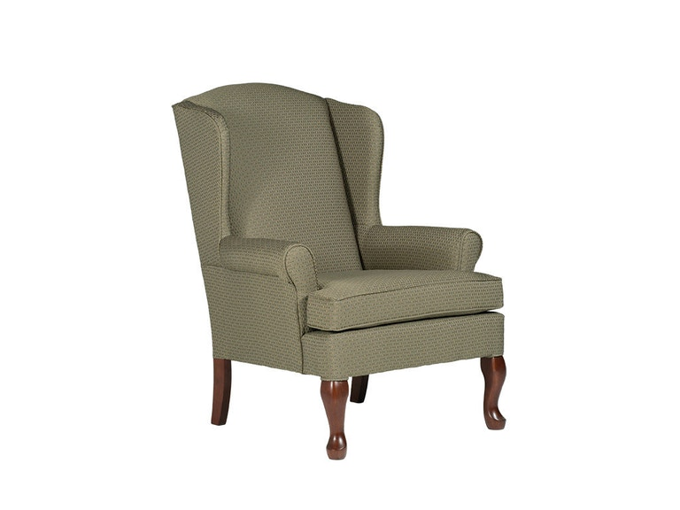 Best Home Furnishings Living Room Queen Anne Wing Chair 0750 Howell Furniture Beaumont And