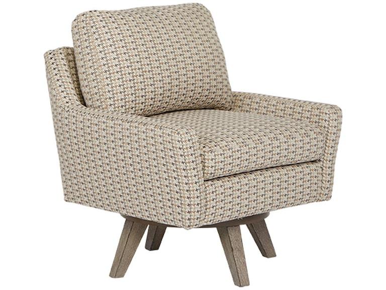 Best Home Furnishings Living Room Swivel Chair 2508 Blockers