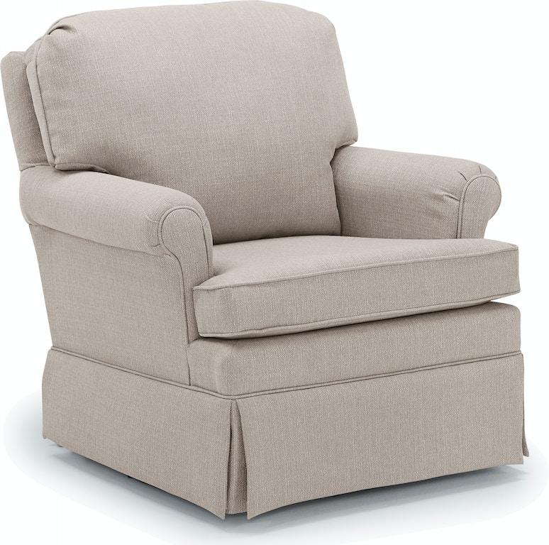 Best home furnishings living room swivel rocker 2619 at furniture kingdom