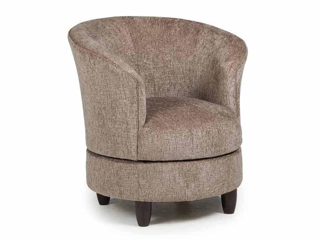 Best Home Furnishings Living Room Swivel Chair 2848e