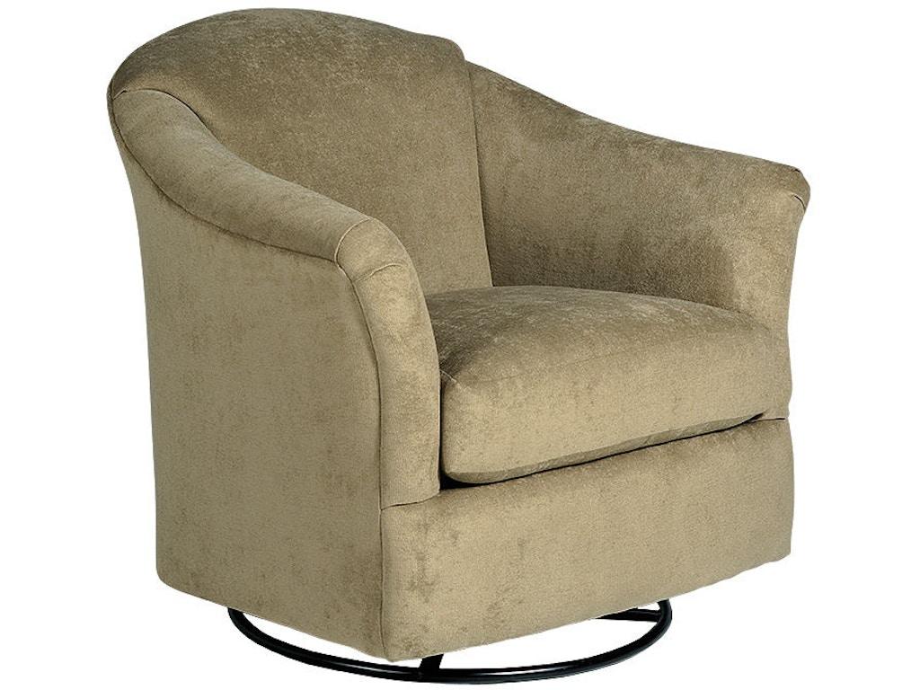 Best Home Furnishings Living Room Swivel Glider 2877 Turner Furniture Company Avon Park And