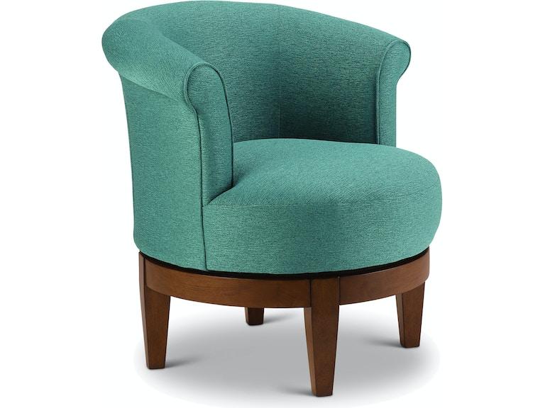 Best Home Furnishings Living Room Swivel Chair 2958e